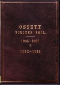 Ossett Burgess Roll 1905-06 & 1913-14 | eBooks | Reference