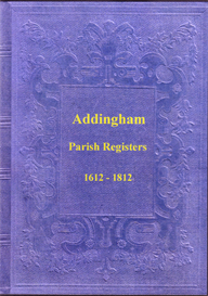 the parish registers of addingham, in the west riding of yorkshire.