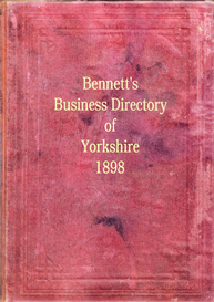 bennett's business directory of yorkshire 1898