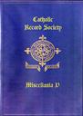 The Catholic Record Society Miscellanea V | eBooks | Reference