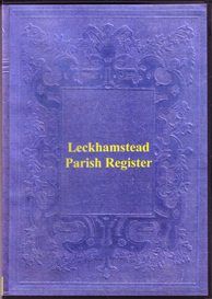 The Registers for the Parish of Leckhamstead in Buckinghamshire | eBooks | Reference