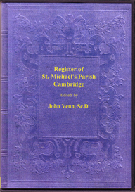 St. Michael's Parish Registers of Baptisms, Marriages and Burials, Cambridge. | eBooks | Reference