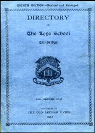 directory of the leys school, cambridge.