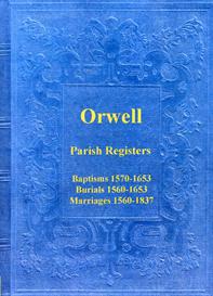 the parish registers of orwell in cambridgeshire