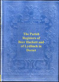 parish registers of beer hackett & of lydlinch