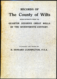 Records of The County of Wilts. being extracts from the Quarter Sessions Great Rolls of the Seventeenth Century. | eBooks | Reference