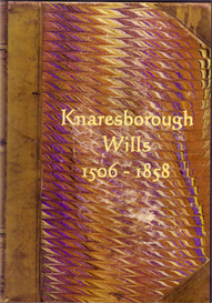knaresborough wills, yorkshire. volumes i & ii.