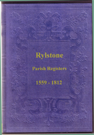 parish registers of st. peters, rylstone, yorkshire