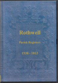 parish registers of rothwell, w. yorkshire