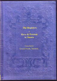 the parish registers of hove and of preston in sussex