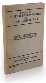 reports on british prison camps in india and burma (1917)