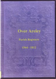 the parish registers of over areley