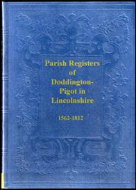 Parish Registers of Doddington-Pigot in Lincolnshire | eBooks | Reference
