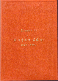 commoners of winchester college 1836-1890.