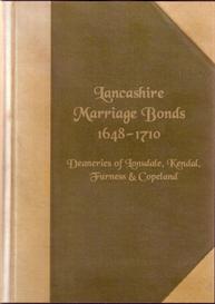 lancashire marriage bonds 1648 - 1710