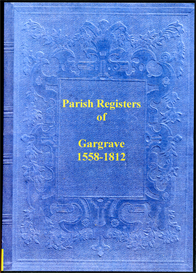 the parish registers of gargrave in the west riding of yorkshire.