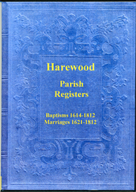 the parish registers of harewood in yorkshire.
