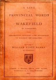 a list of provincial words in use at wakefield in yorkshire.