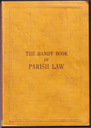 The Handy Book of Parish Law   eBooks   Reference