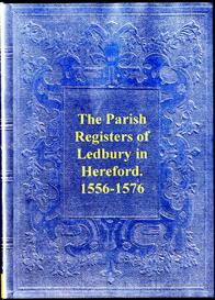 Parish Registers of Ledbury in Hereford | eBooks | Reference