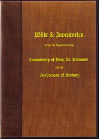bury wills and inventories