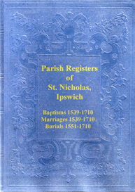 Parish Registers of St Nicholas, Ipswich | eBooks | Reference