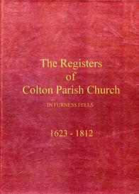 the parish registers of colton in furness fells, in lancashire (now cumbria).