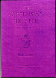 the roffensian register, 1835-1920