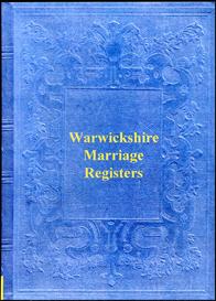 warwickshire parish registers of marriage.