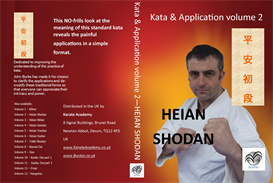 heian shodan kata & application volume 2