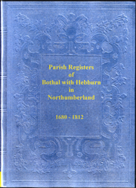 Parish Registers of Bothal with Hebburn in Northumberland | eBooks | Reference