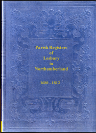 Parish Registers of Lesbury in Northumberland | eBooks | Reference
