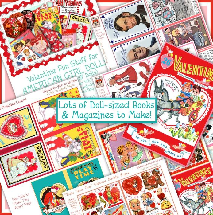 First Additional product image for - American Girl Valentine Fun Stuff e-Booklet