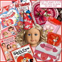 American Girl Valentine Fun Stuff e-Booklet | Crafting | Paper Crafting | Paper Toys