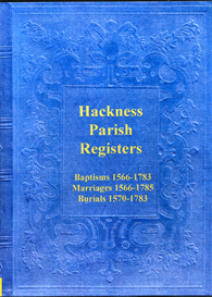 the parish registers of hackness, in the north riding of yorkshire.