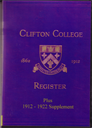 Clifton College Annals and Register   eBooks   Reference