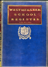 Westminster School Register, 1764 to 1893. | eBooks | Reference