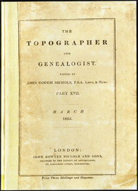 The Topographer & Genealogist | eBooks | Reference