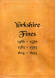 Yorkshire Fines. | eBooks | Reference