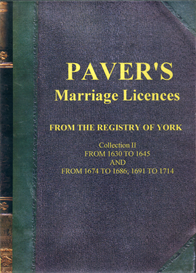 Paver's Marriage Licences Collection II   eBooks   Reference