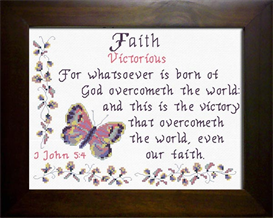 Name Blessings - Faith | Crafting | Cross-Stitch | Religious