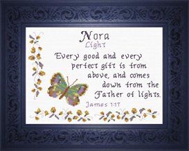 name blessings - nora