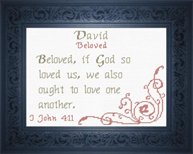 name blessings - david 3