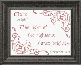 name blessings - clare 2