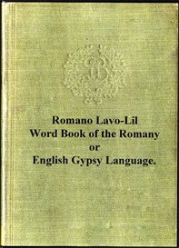 romano lavo-lil word book of the romany or, english gypsy language.