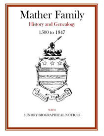 mather family history and genealogy