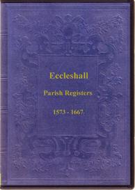 the parish registers of eccleshall, staffordshire.