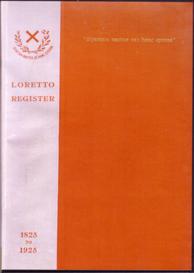 loretto school register 1825 to 1925