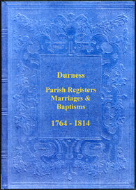 the parish registers of durness, in the highland region of scotland.