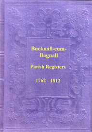 The Parish Registers of Bucknall cum Bagnall, in Staffordshire. | eBooks | Reference
